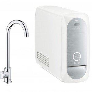Grohe Blue® Home: dal rubinetto, anche acqua filtrata frizzante - Cose di Casa