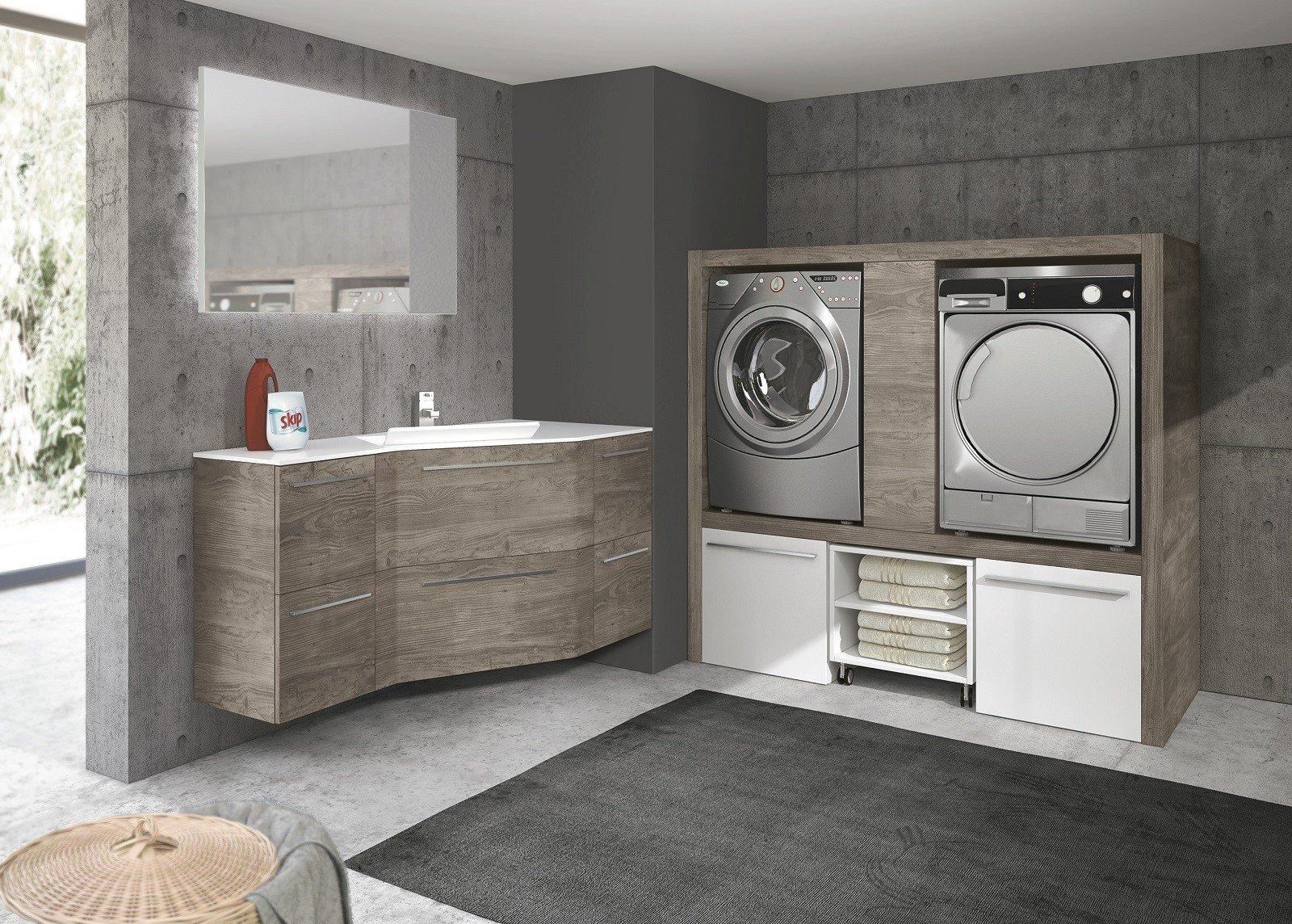 Mobile Per Lavatrice Moderno lavanderia: in un mobile o in una stanza separata? - cose di
