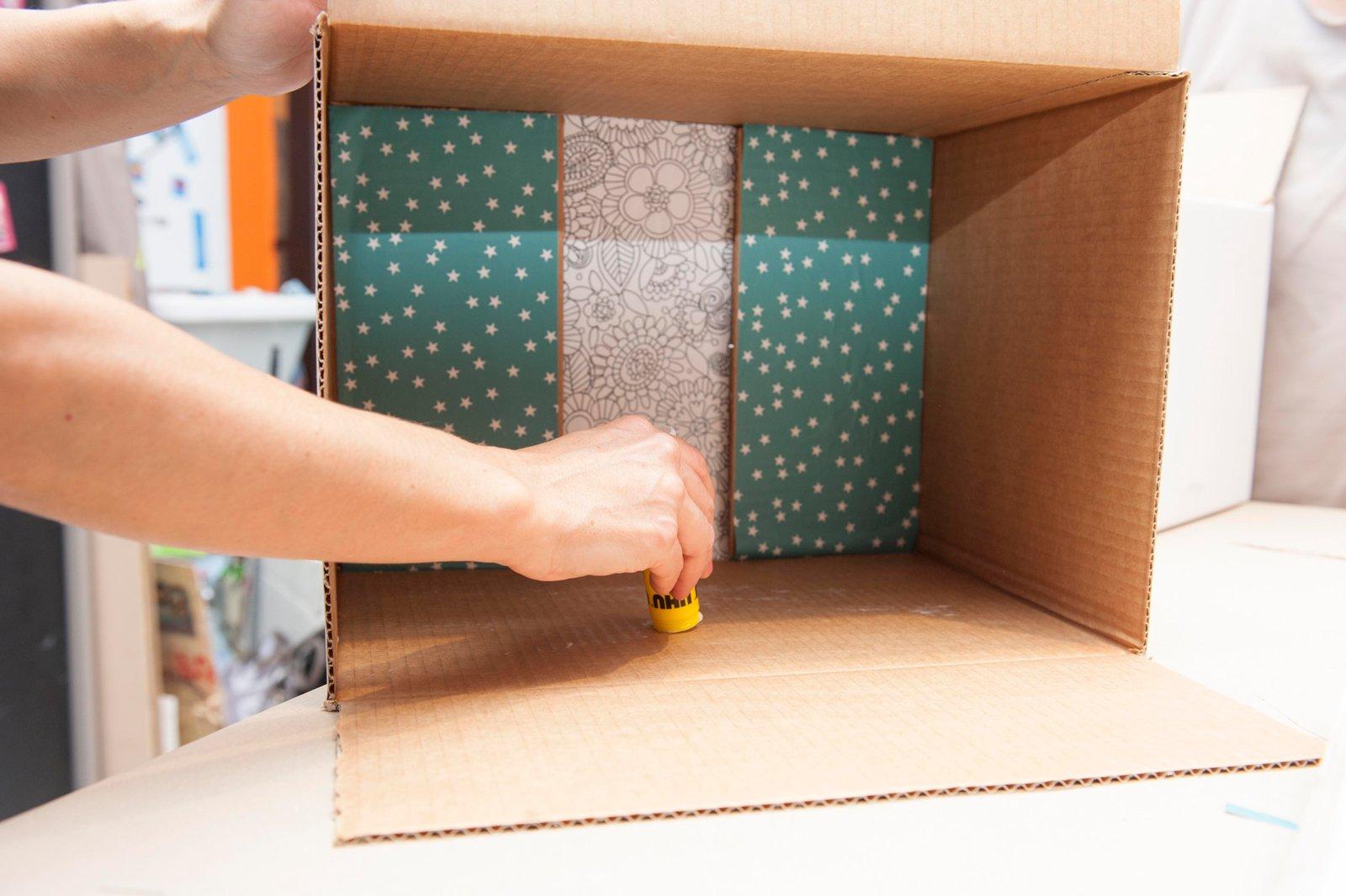 Estremamente Riciclo: da scatola a mini libreria - Cose di Casa HT26