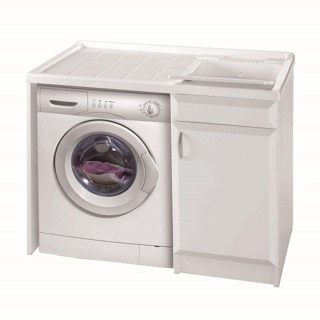 Lavanderia in un mobile o in una stanza separata cose for Leroy merlin lavatoio con mobile