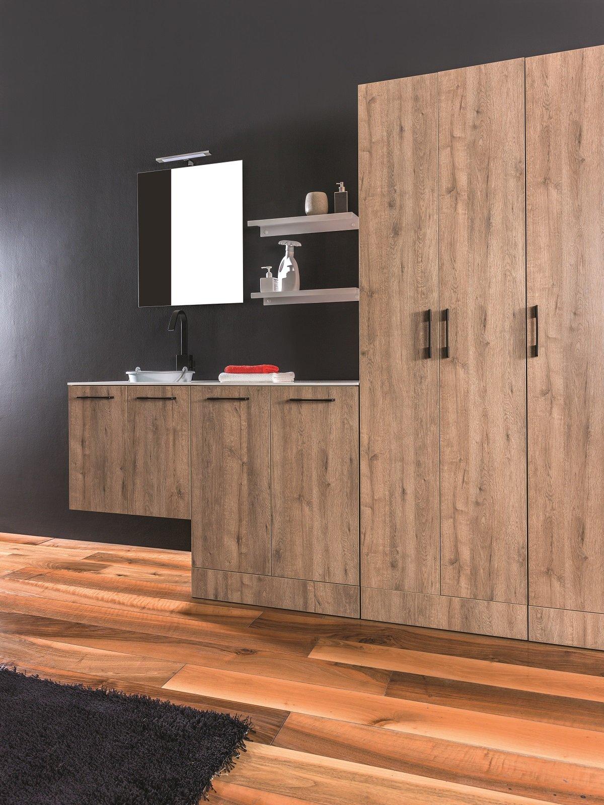 Lavanderia In Un Mobile O In Una Stanza Separata Cose Di Casa