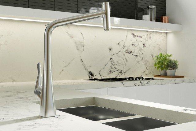 Miscelatori per la cucina per risparmiare acqua cose di casa - Miscelatore cucina perde acqua ...