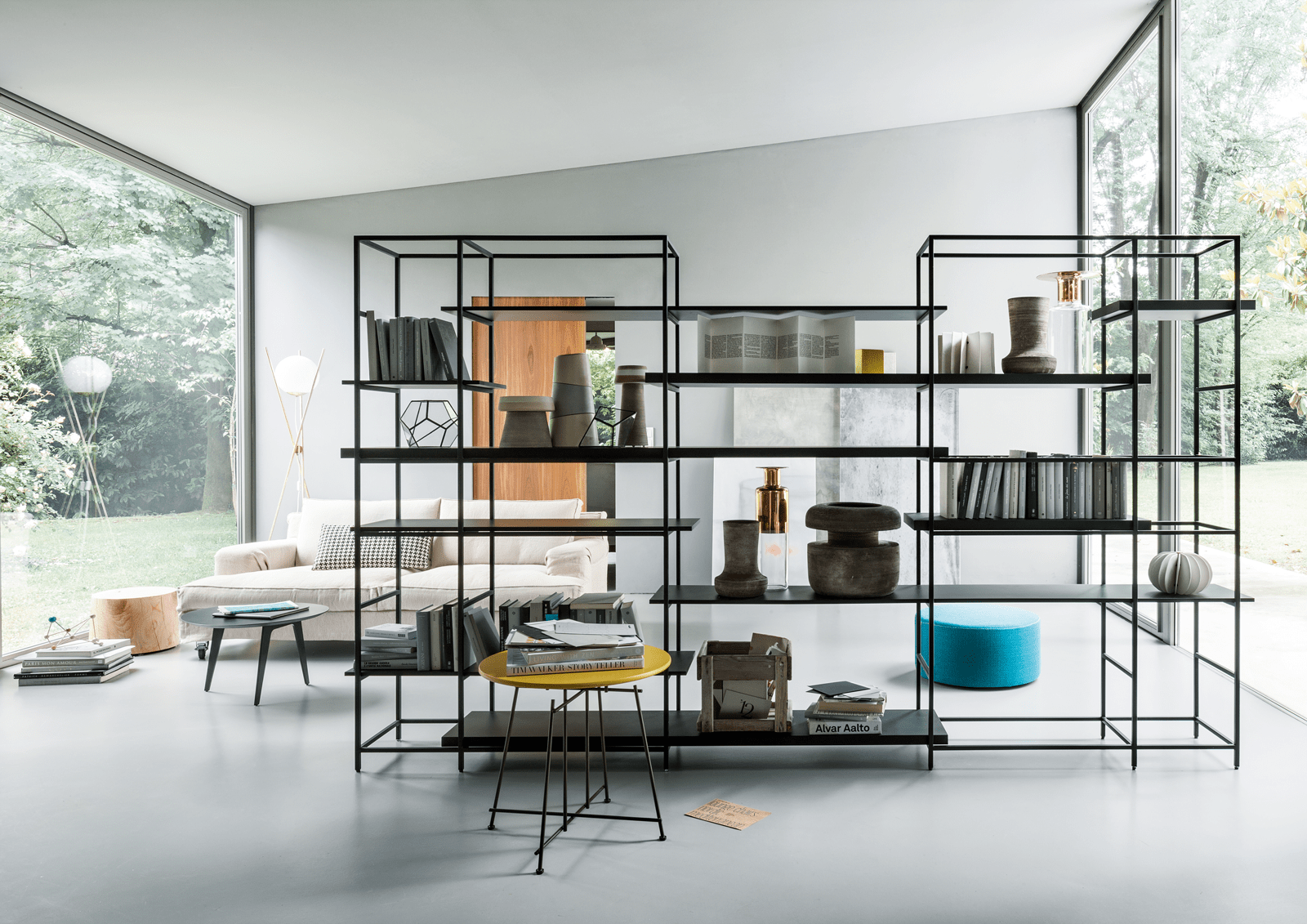 Dividere con i mobili 5 soluzioni lema cose di casa for Arredamento industriale ikea