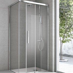 Speciale doccia scegli i diversi pezzi e mettili insieme for Porta doccia a libro leroy merlin