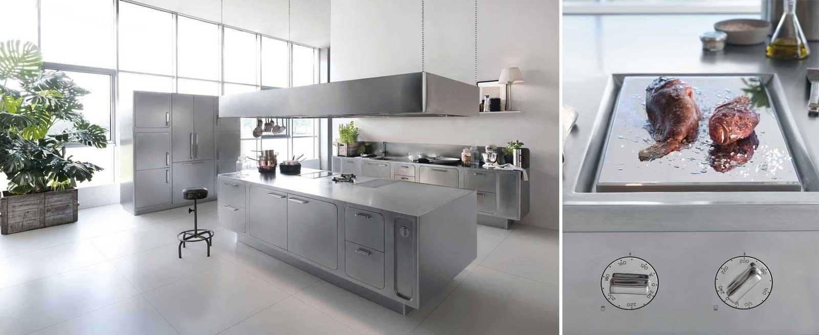 Progettare bene la cucina per aspiranti chef cose di casa - Prezzi cucine professionali ...
