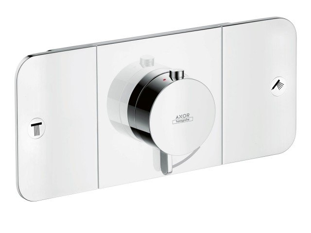 Axor_One_dettaglio-del-termostatico-a-due-utenze-di-AxorHansgrohe