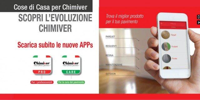 Mantenere belli i pavimenti con Chimiver e le nuove App