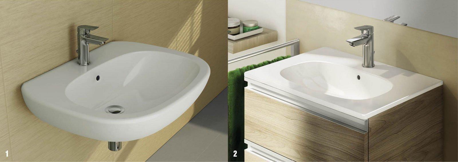 Tesi e ceramix per un bagno di tendenza cose di casa - Lavabo bagno ideal standard ...