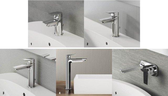 Tesi e ceramix per un bagno di tendenza cose di casa - Miscelatori bagno ideal standard ...