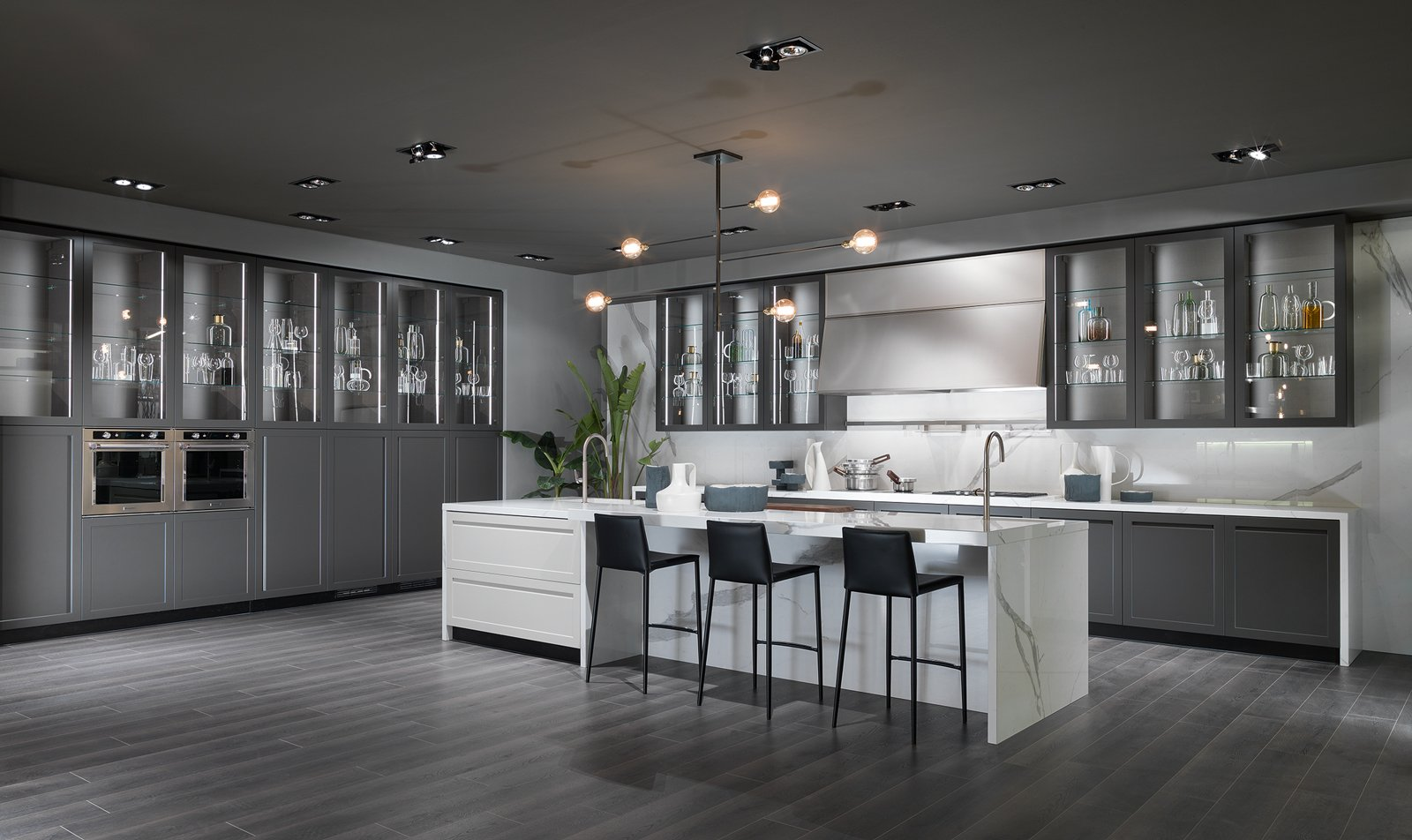 Cucina Con Vetrina Soprattutto Classica O In Stile Industriale Cose Di Casa