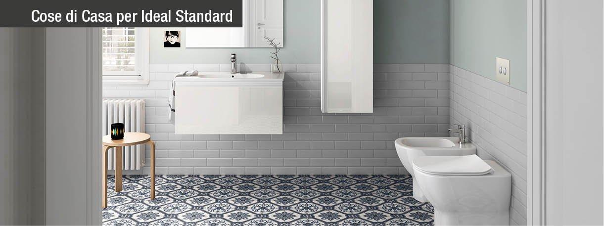 Tesi e ceramix per un bagno di tendenza cose di casa - Rubinetti ideal standard bagno ...