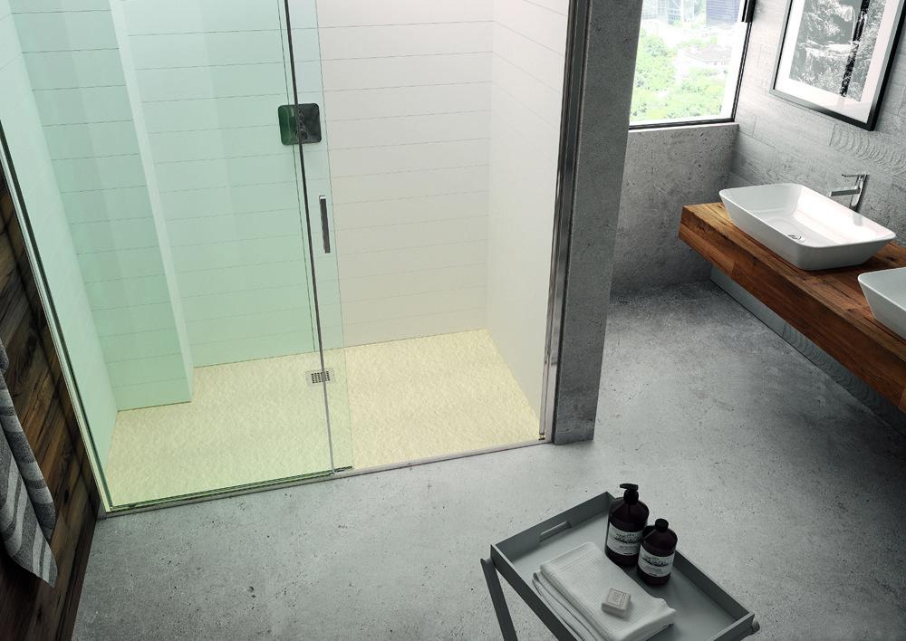 Nuovi piatti doccia effetto pietra - Cose di Casa