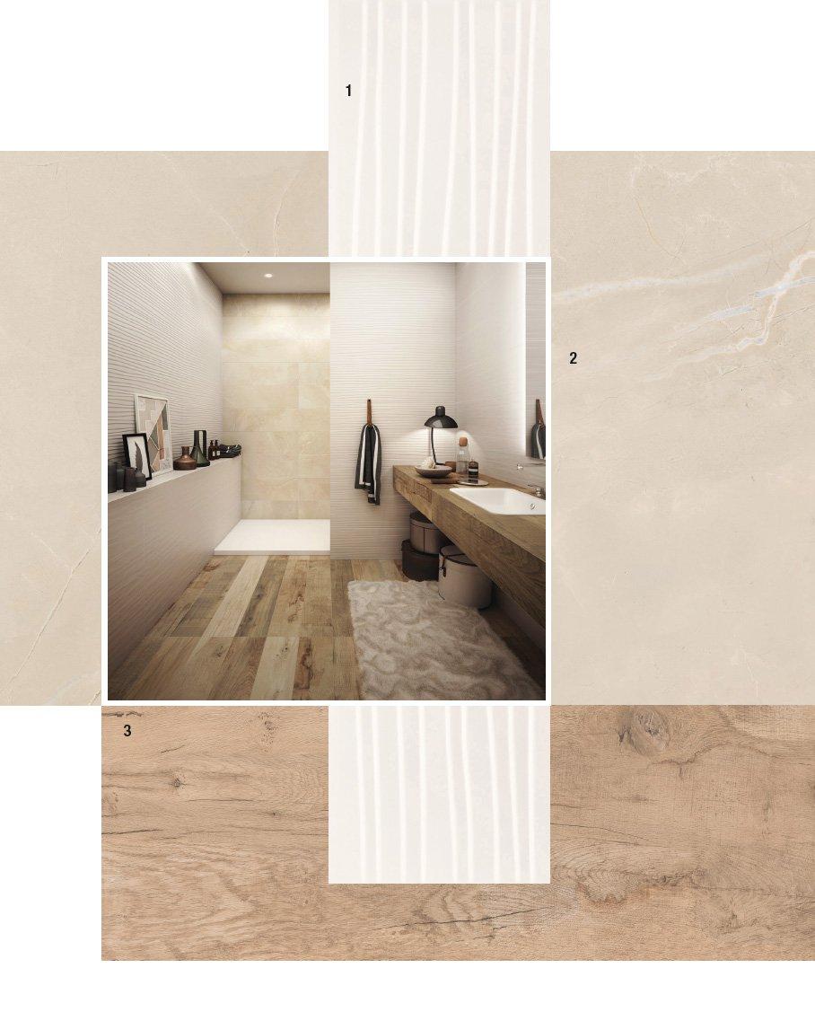 Piastrelle per il bagno 25 soluzioni e oltre 75 abbinamenti cose di casa - Ceramiche bagno prezzi ...