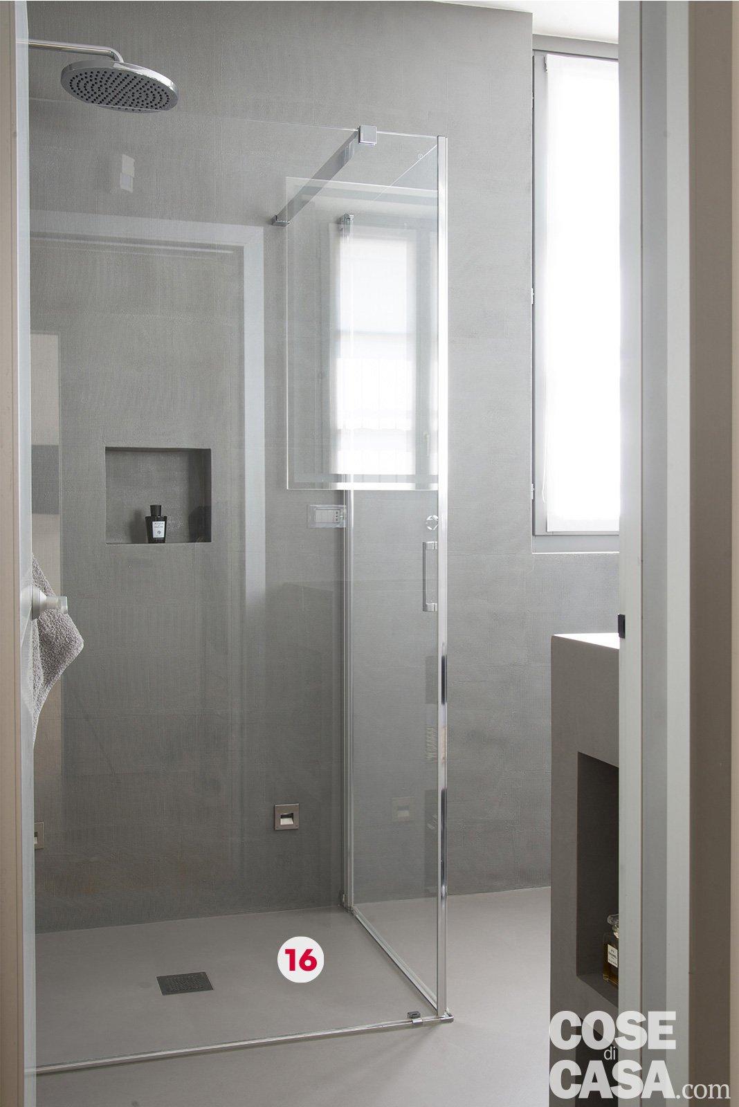 bagno-box-doccia-angolo - Cose di Casa
