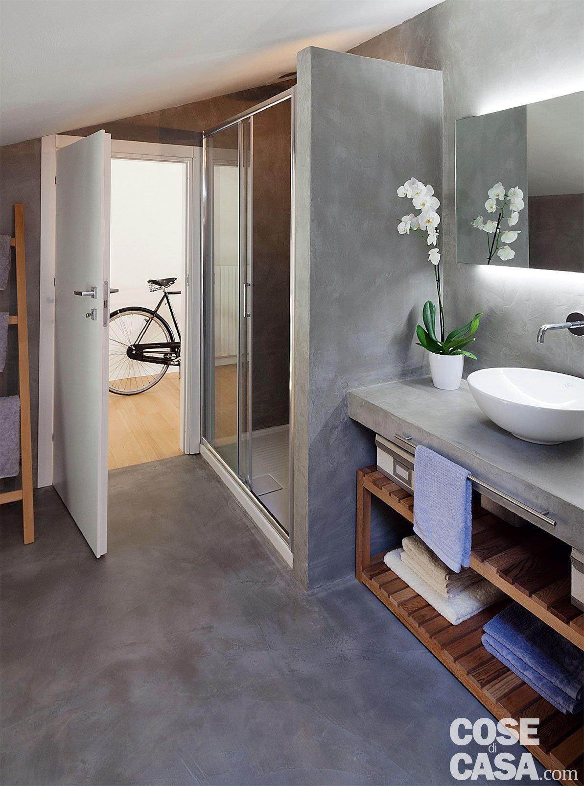 bagno resina cementizia - Cose di Casa