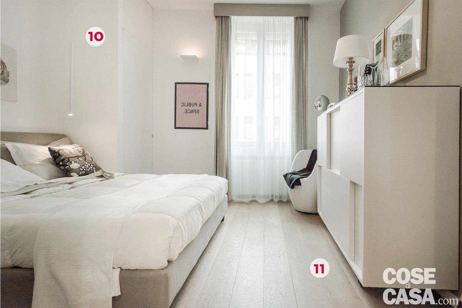 Pianta Camera Da Letto Con Misure : Mq con soluzioni d arredo salvaspazio cose di casa