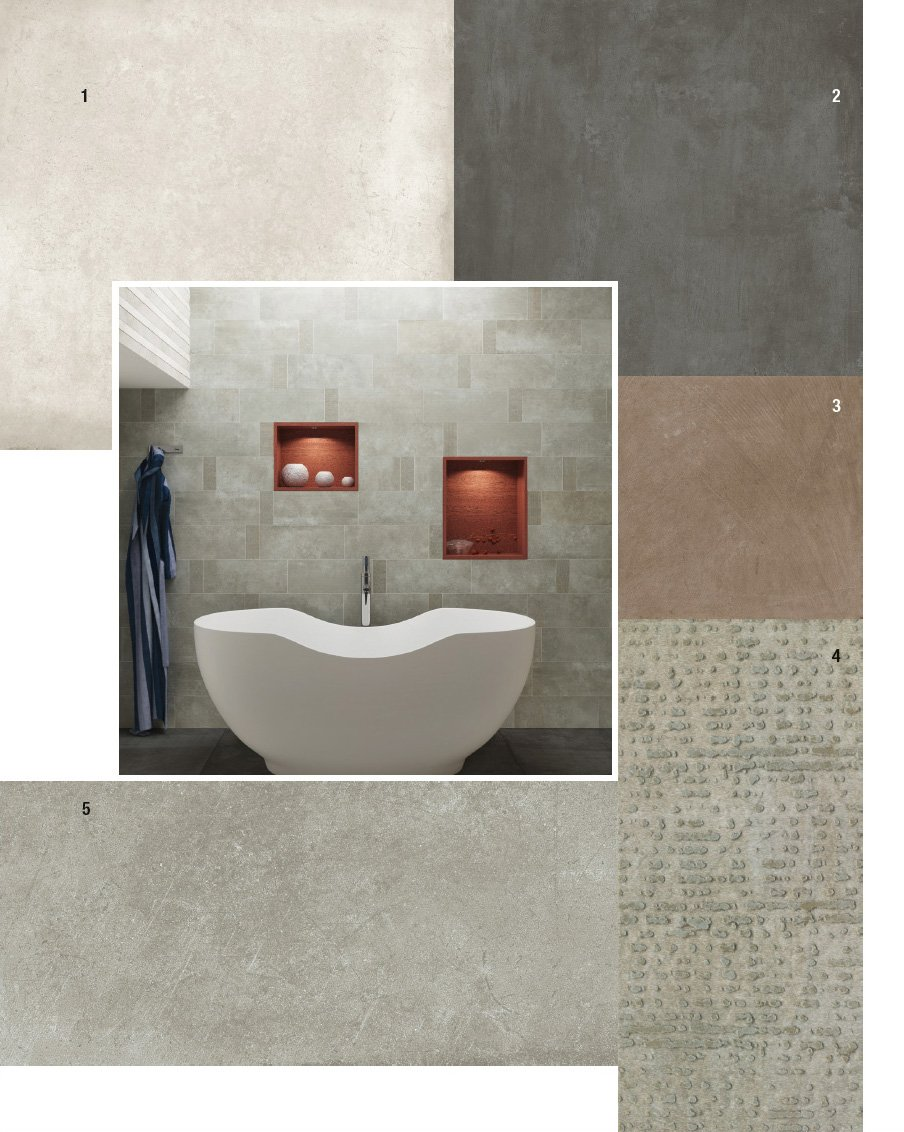 piastrelle per il bagno: 25 soluzioni e oltre 75 abbinamenti ... - Bagni Moderni Beige E Marrone