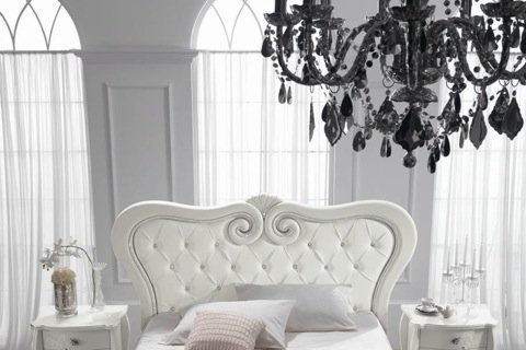 Camera new classic: bianca, elegante e romantica