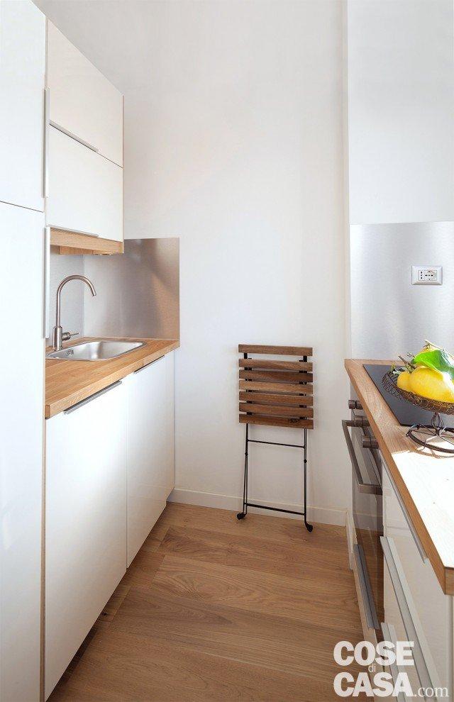 Bilocale di 40 mq casa mini comfort maxi cose di casa for Arredare cucina 4 mq