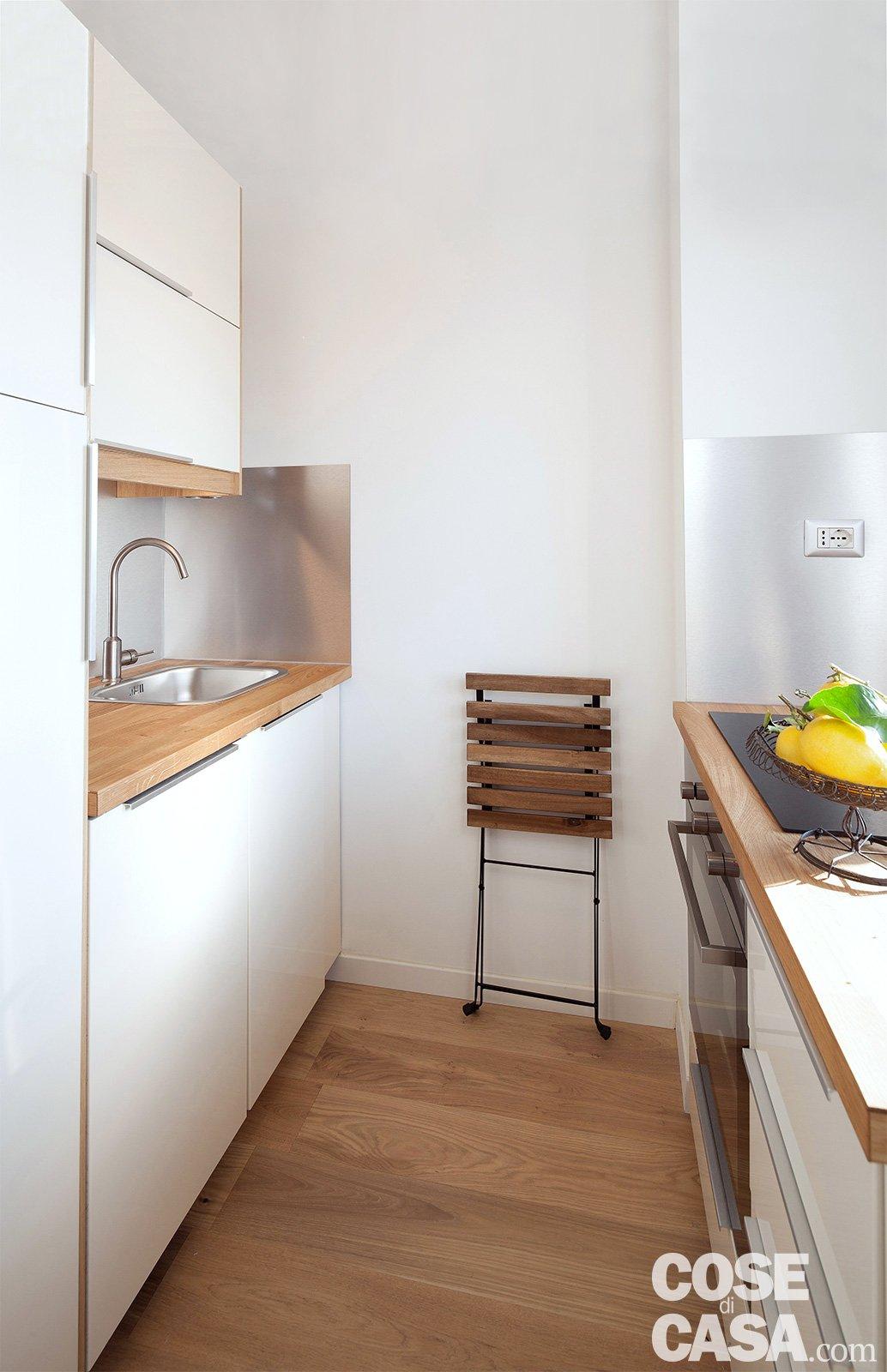 Bilocale di 40 mq casa mini comfort maxi cose di casa - Arredare casa risparmiando ...