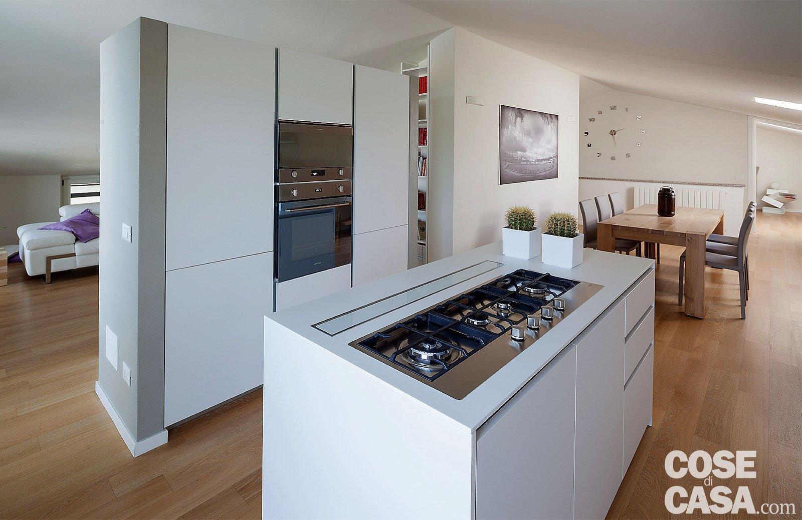 Abitare in mansarda cose di casa - Altezza isola cucina ...