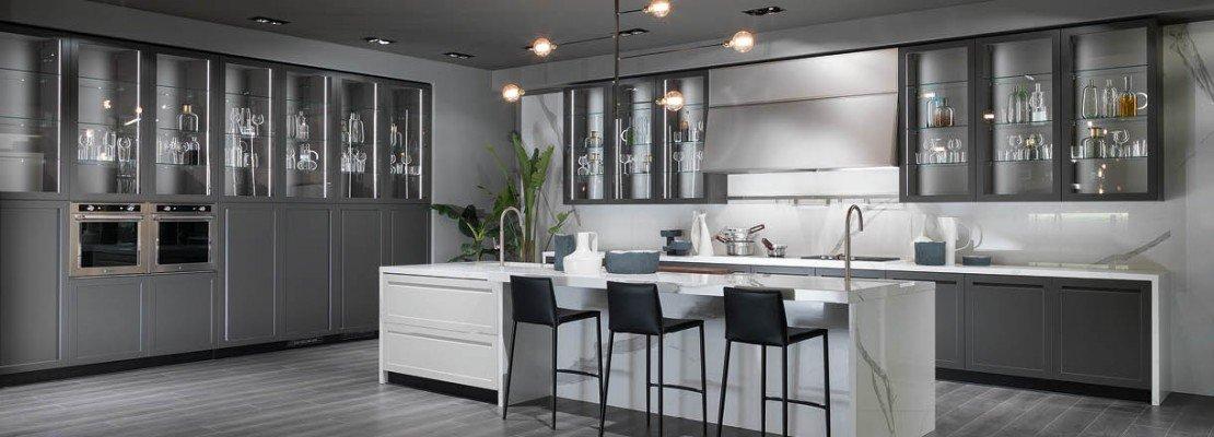 Cucina con vetrina. Soprattutto classica o in stile industriale - Cose di Casa