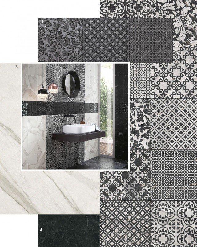 Piastrelle per il bagno 25 soluzioni e oltre 75 abbinamenti cose di casa - Soluzioni no piastrelle cucina ...