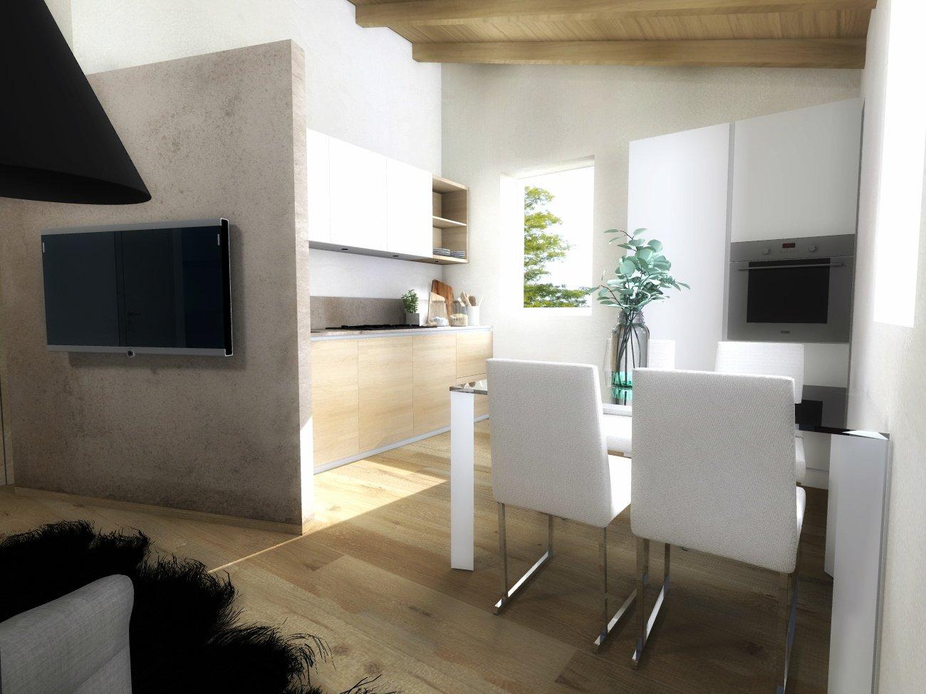 Soggiorno cucina piccolo come lo risolvo guarda il - Mobili cartongesso soggiorno ...
