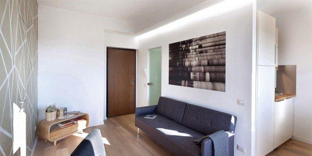 Bilocale di 40 mq casa mini comfort maxi cose di casa for Case arredate ikea