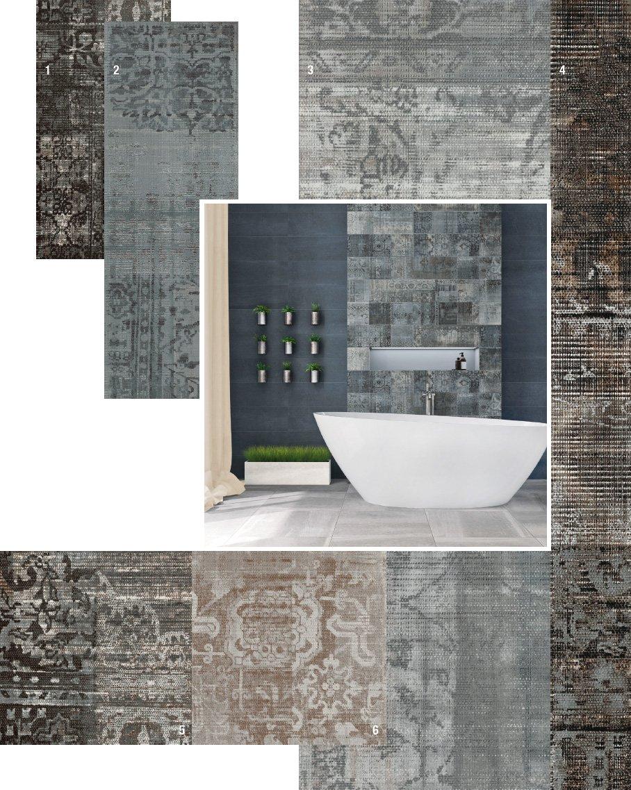 Piastrelle per il bagno 25 soluzioni e oltre 75 - Piastrelle in pvc per bagno ...