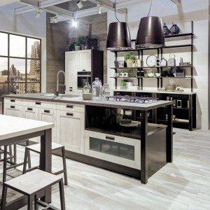 Cucina con vetrina soprattutto classica o in stile - Cucina lube kyra ...