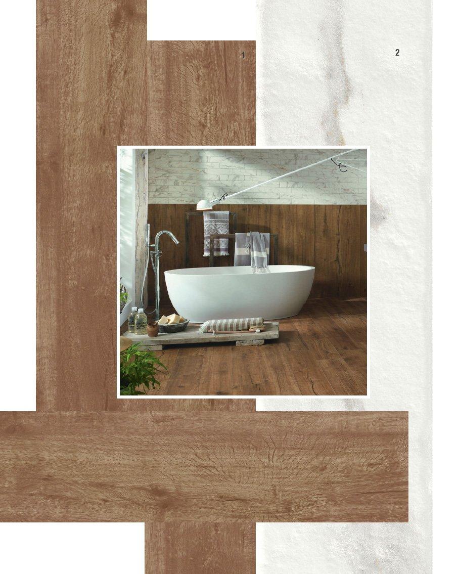 Piastrelle per il bagno 25 soluzioni e oltre 75 - Comporre un bagno ...