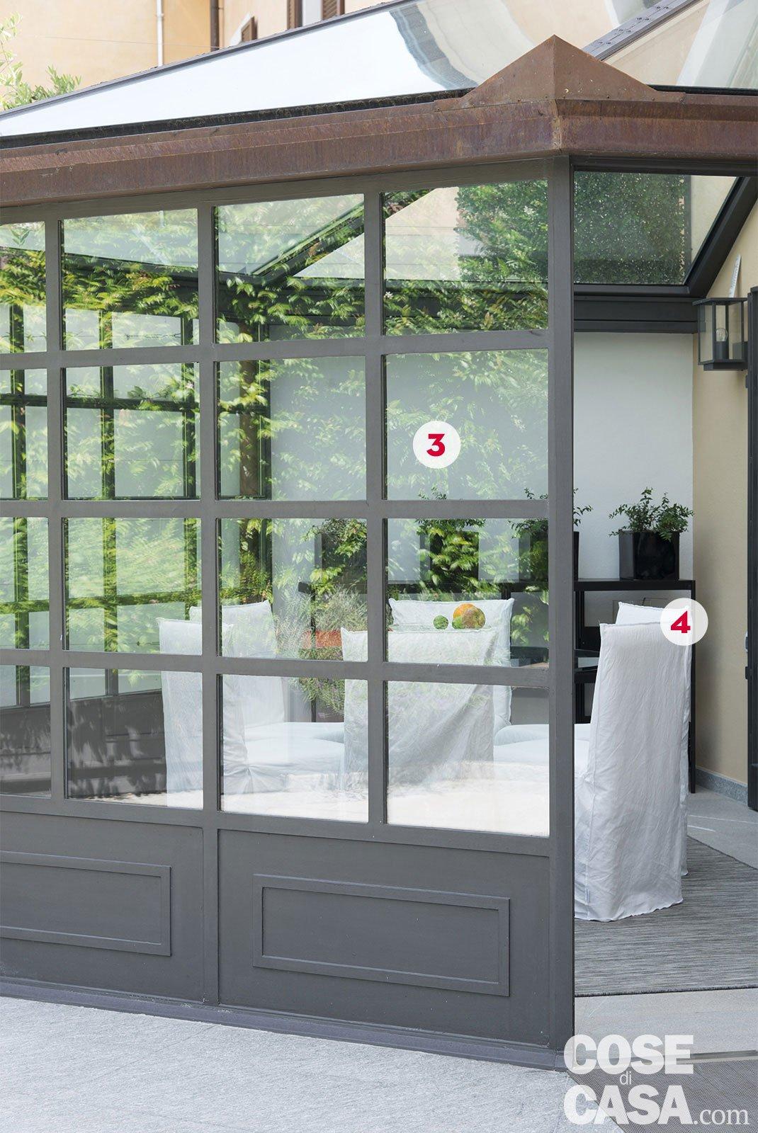 Interni di 67 56 50 mq elogio della semplicit cose di casa - Struttura in ferro per casa ...