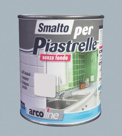 Pitturare le piastrelle bagno e cucina diventano come nuovi cose di casa - Smalto per piastrelle cucina ...