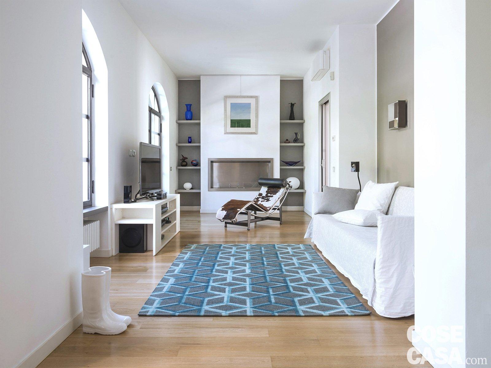 Interni di 67 56 50 mq elogio della semplicit cose di casa - Tappeti per ingresso casa ...
