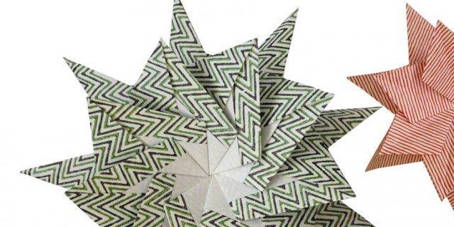 Stella stellina… come realizzare una stella di carta?