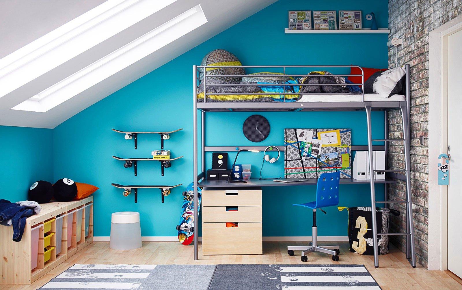 Cameretta Armadio Ponte Ikea.Camerette Multifunzione Per Bambini E Ragazzi Cose Di Casa