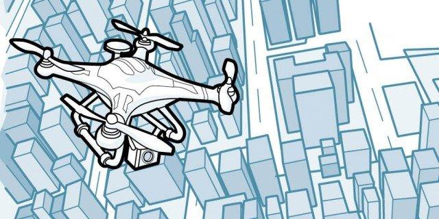 Droni? Utili anche in edilizia