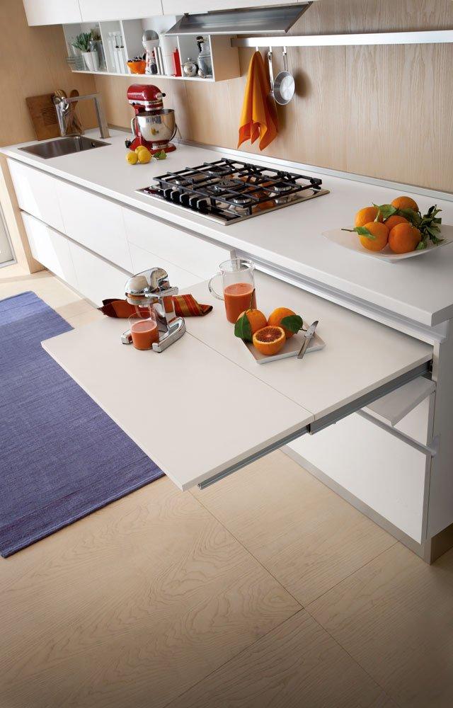 Piani estraibili a scomparsa cose di casa - Mobile cucina a scomparsa ...