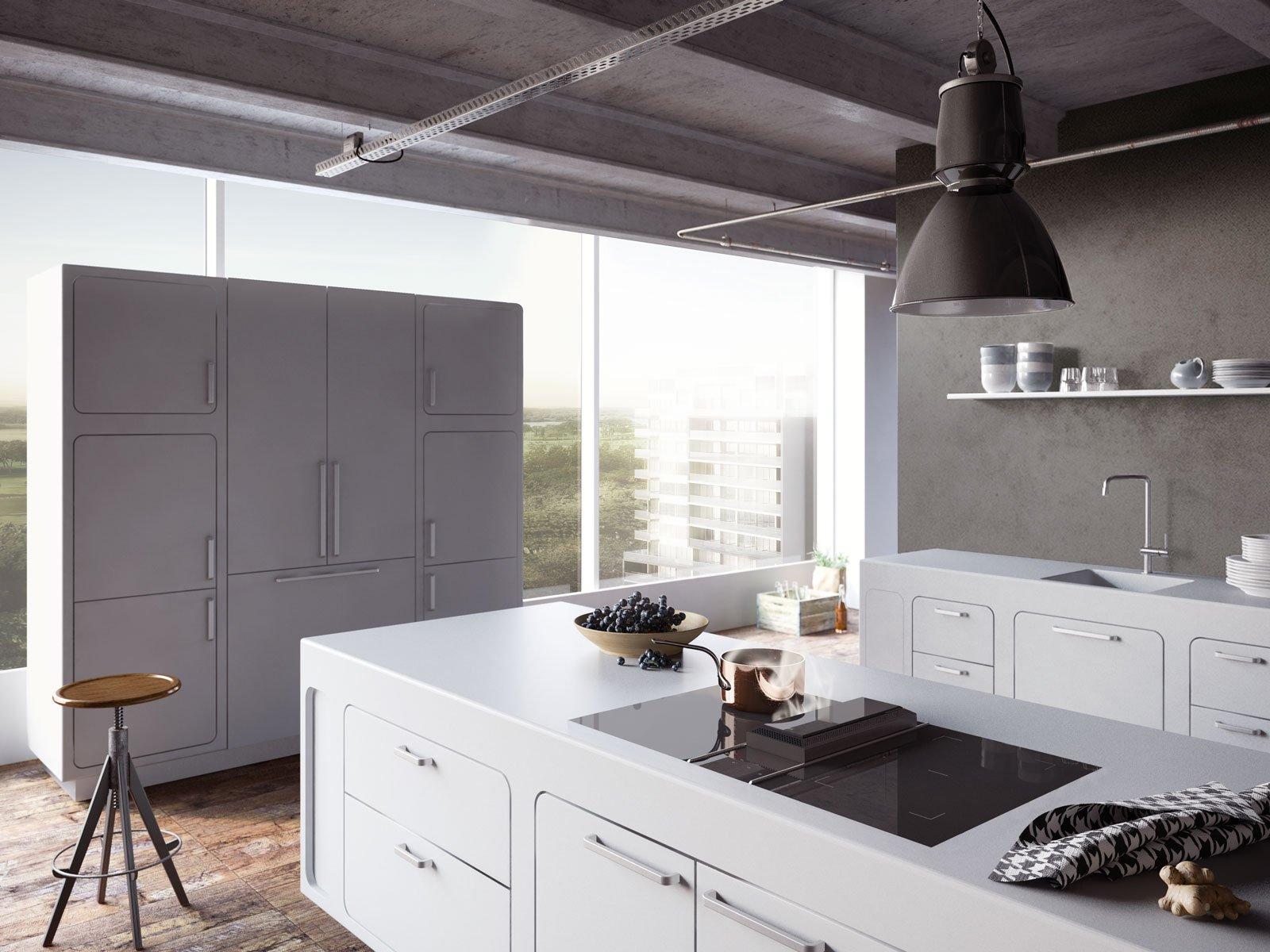 Cappe obbligatorie ma anche indispensabili specie nella cucina a vista cose di casa - Cappe da cucina classiche ...