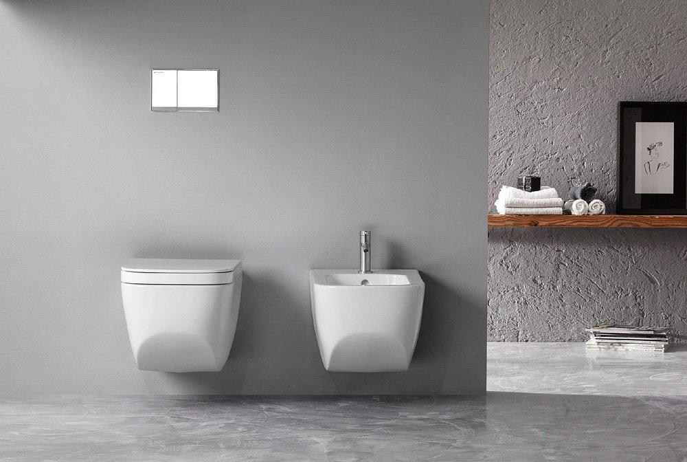 Distanza scarico wc a pavimento come installare un nuovo for Sanitari sospesi bricoman