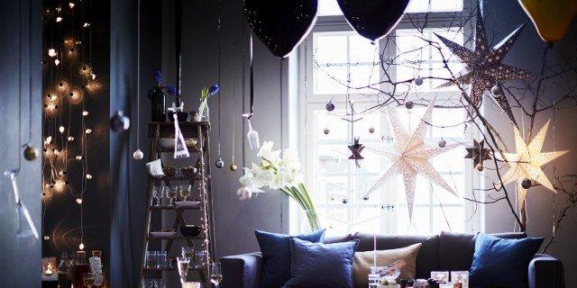 Ikea: luci e addobbi per il Natale