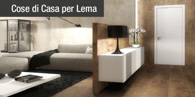 Ingresso aperto sul soggiorno: due progetti d\'arredo in 3D - Cose di ...