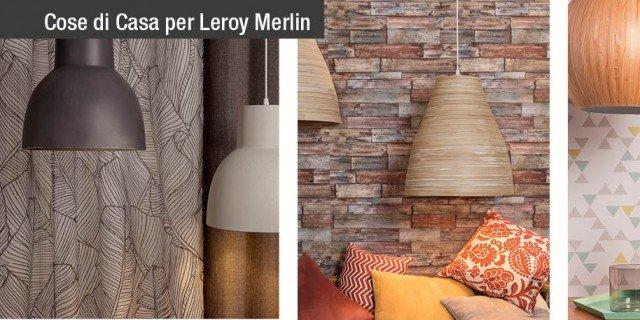 Lampada vetro murano for Luci leroy merlin