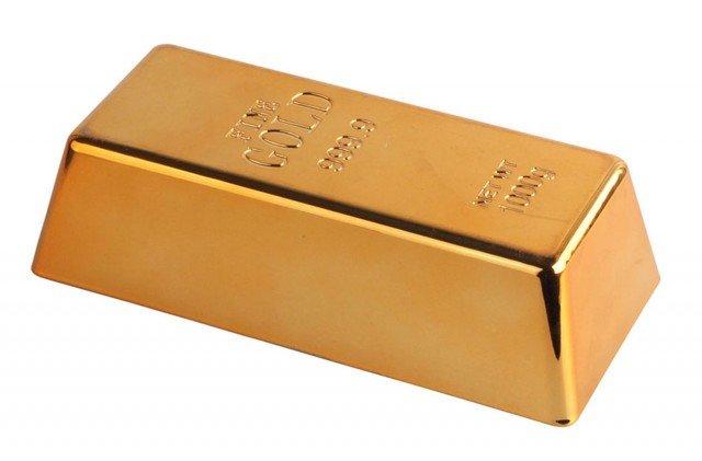 Maiuguali-Lingotto-ferma-porta-12214-regali-oro-per-la-casa