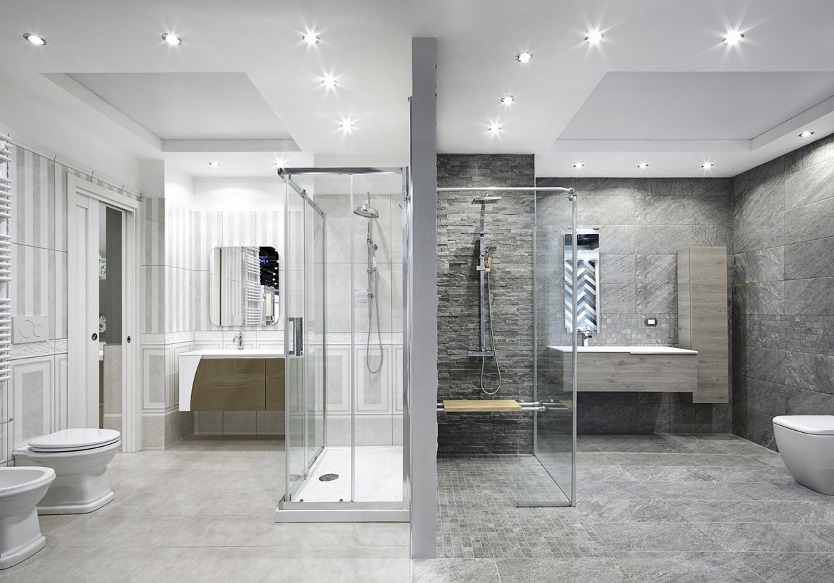 Nuovo showroom leroy merlin con ambientazioni di design cose di casa - Showroom piastrelle milano ...