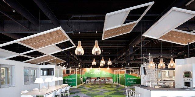 Nuovo showroom Leroy Merlin con ambientazioni di design