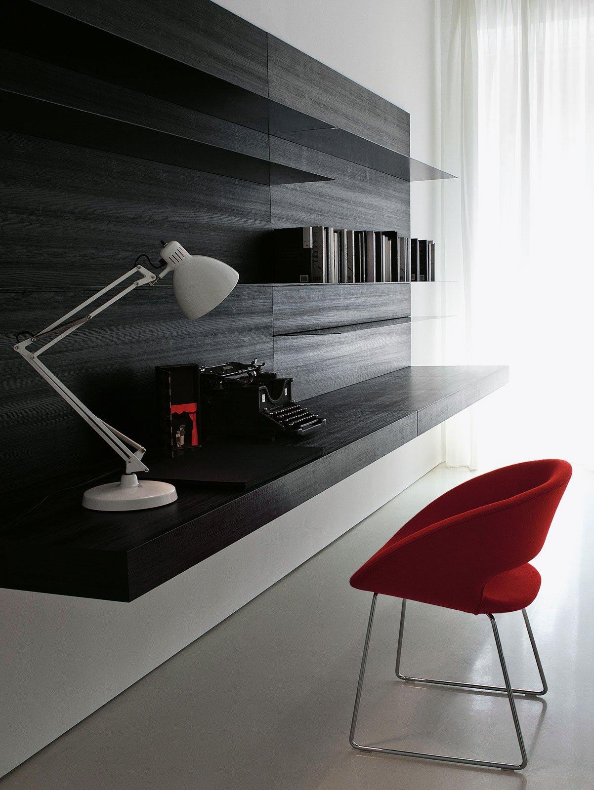 angolo studio in soggiorno: integrato nella libreria o in un ... - Zona Studio Nel Soggiorno 2
