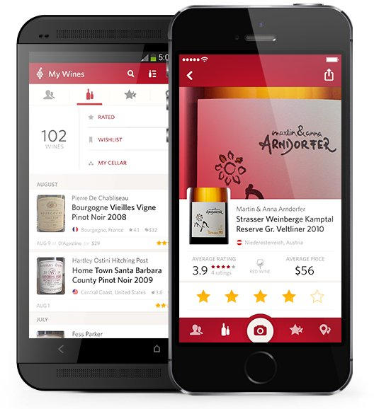 Vivino app devices