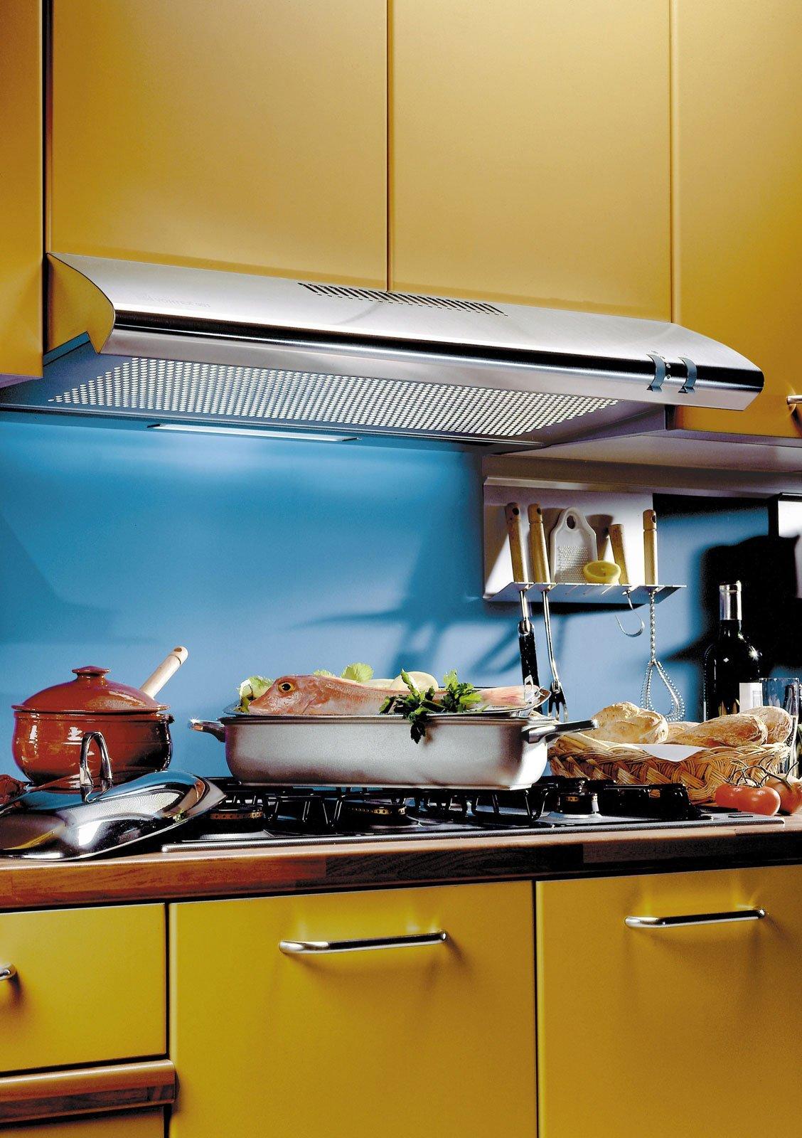 Cappe obbligatorie ma anche indispensabili specie nella cucina a vista cose di casa - Misure cappa cucina ...